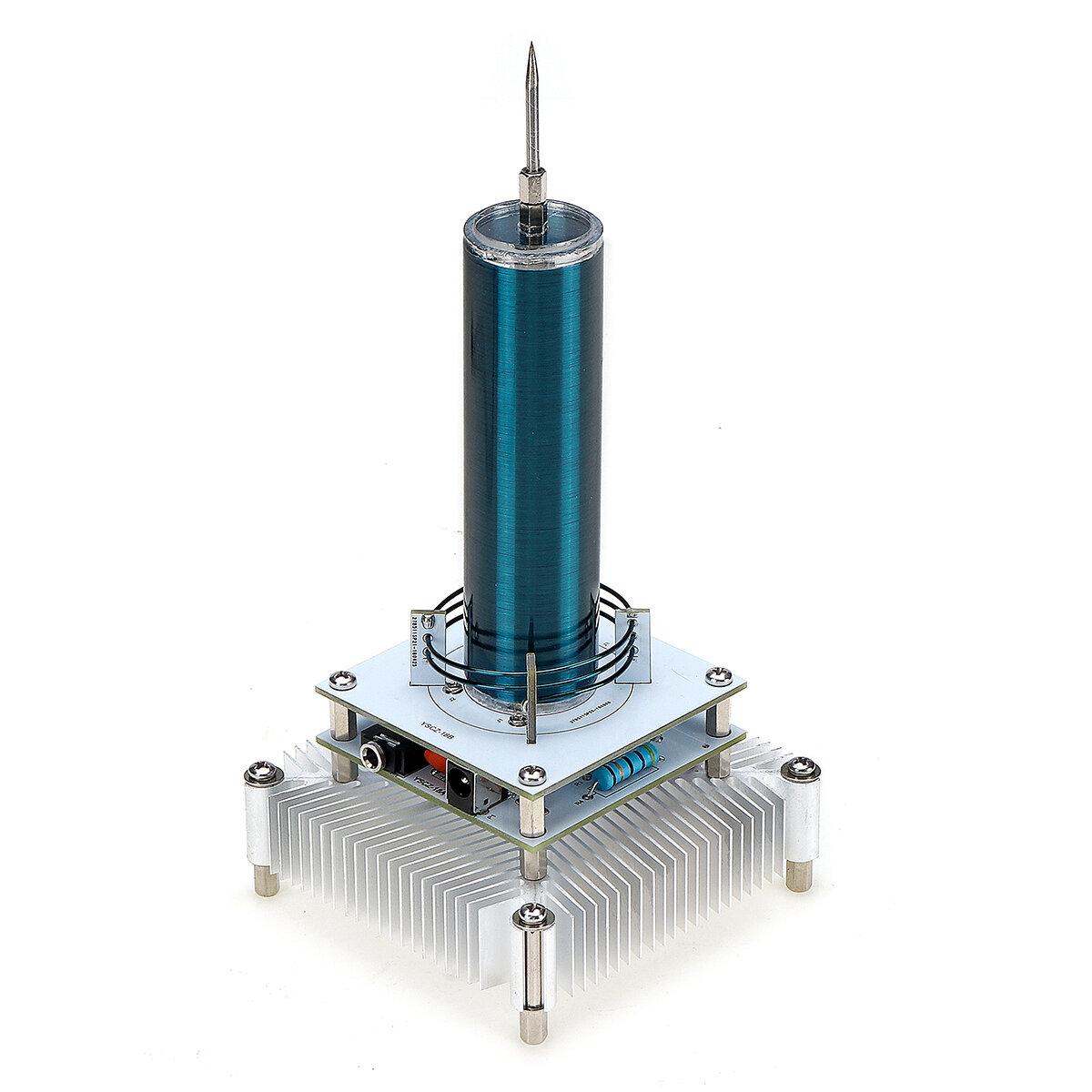 Electrónica Música Tesla Módulo de bobina Altavoz Plasma Transmisión inalámbrica Sonido Ciencia sólida