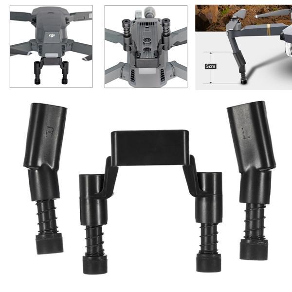 Protezione di supporto per gambe allungate a molla di estensione prolungata per DJI Mavic Pro