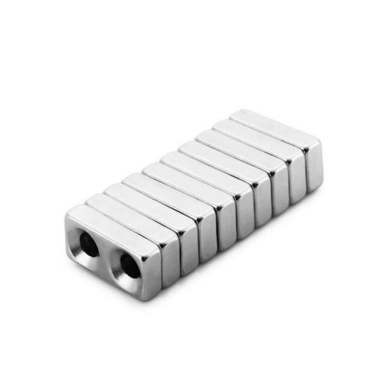 10Pcs20 x 10 x 5 มม. N38 แม่เหล็ก Toys พลังสร้างสรรค์ NdFeB Cube สำหรับเด็ก ผู้ใหญ่ DIY