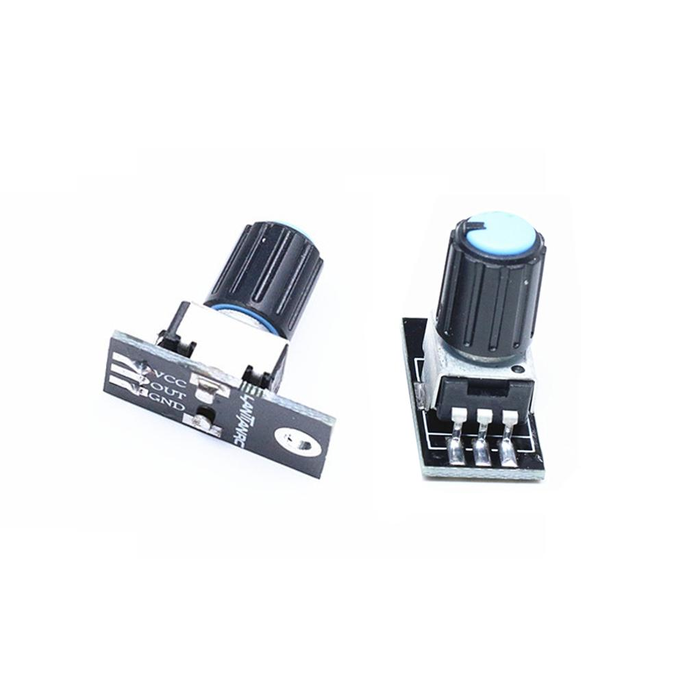 2 PCS Lantian 10K Rotary Potential Sensor Module Adjustable Resistance Module for RC Drone