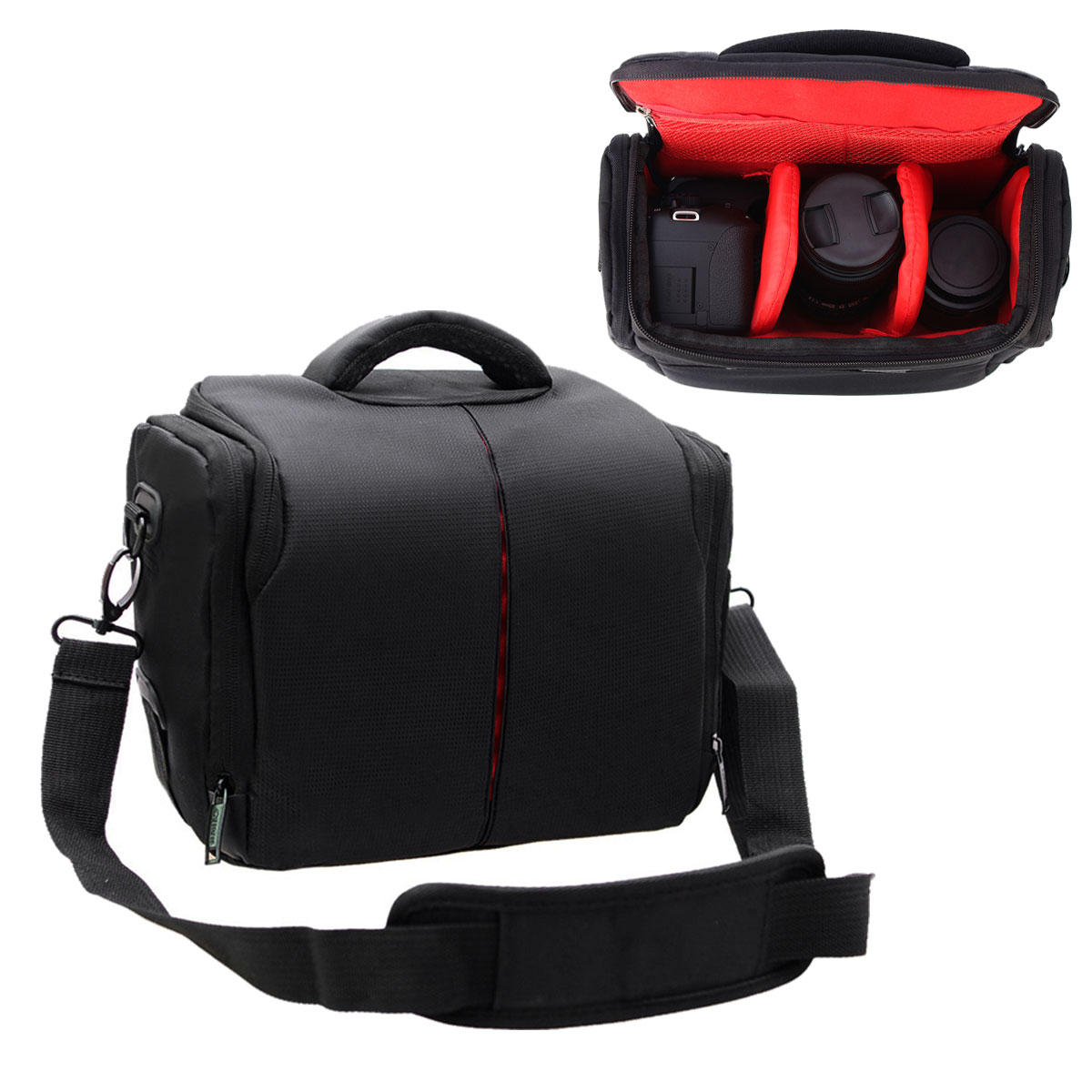 Universal Portable Waterproof DSLR Camera Shoulder Bag Case Nylon for Nikon  for Canon for Sony COD 2aa8728467cff