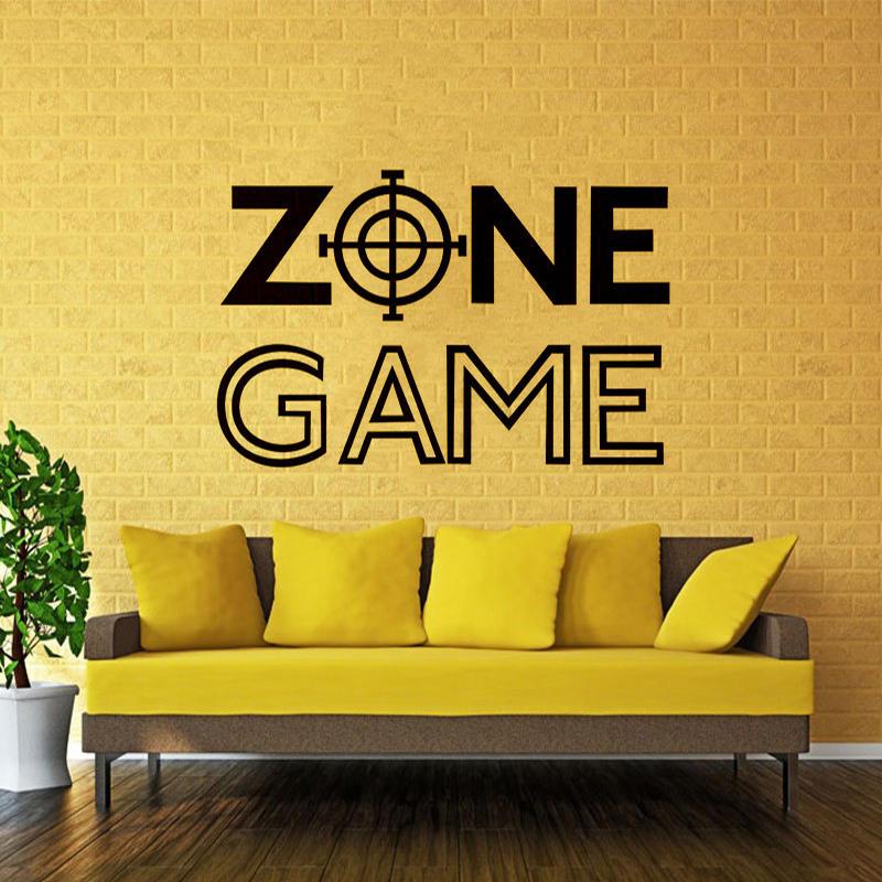 Wall Room Decor Art Vinyl Sticker Mural Decal Game Zone Home Decor