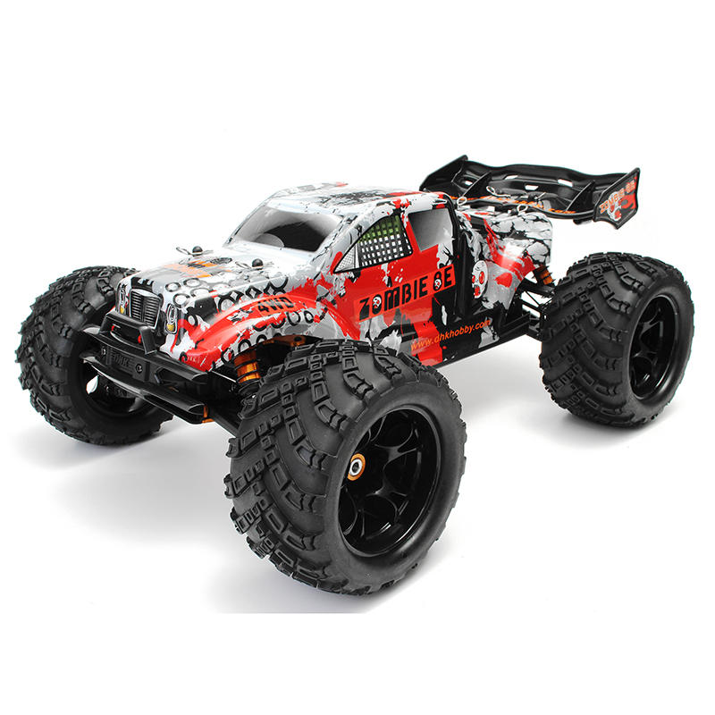 DHK Hobby Zombie 8E 8384 1/8 100A 4WD Brushless รถบรรทุกมอนสเตอร์ RTR RC รถ