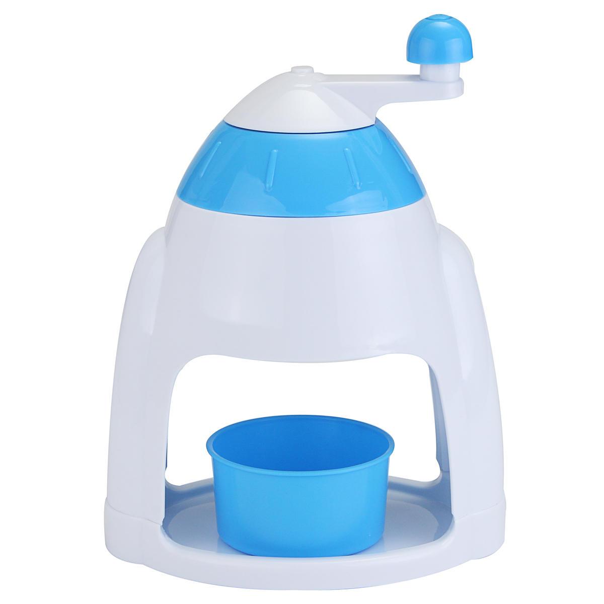 휴대용 핸드 크랭크 수동 얼음 분쇄기 면도기 스노우 콘 제조기 기계 주방 기기 파쇄