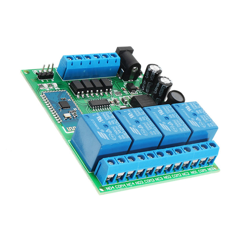 Dc 5v 9v 12 24v 4 Channel Bluetooth Relay Android Mobile Wireless Component Switch Circuit Remote Control What Do I Need