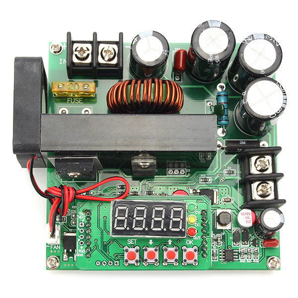 B900W NC DC Constant Current Power Supply Boost Module Ammeter