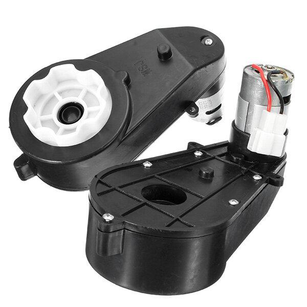 12V 12000RPM eléctrico motor Engranaje Caja para el paseo de los niños Coche Hummer Jeep