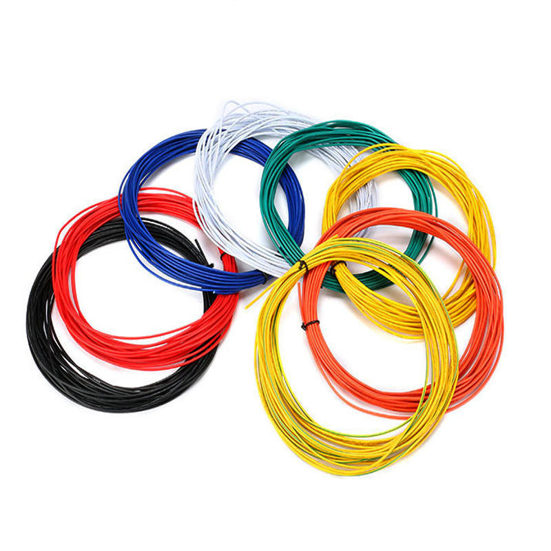 Excellway® 1007 Wire 10 Meters 24AWG 1.4mm PVC Electronic Cable Insulated LED Wire For DIY