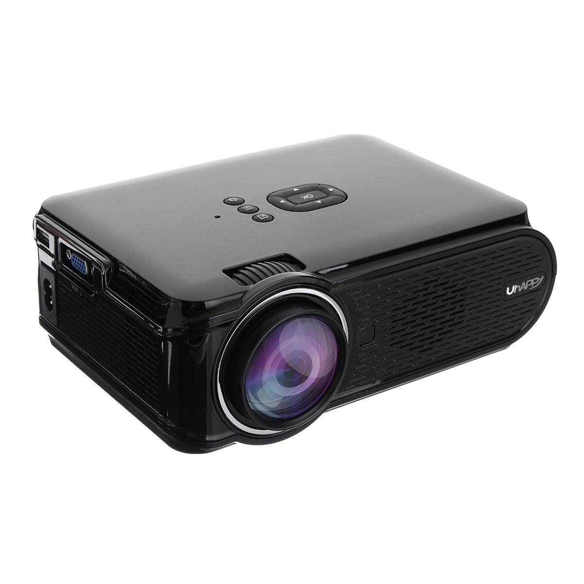 Uhappy U90 Plein HD 1080P 7000 Lumens Maison Cinéma TV Projecteur Intelligent avec Télécommande