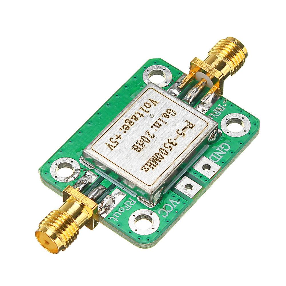 0.1-2000MHz RF Wideband Amplifier 30dB low-noise LNA Broadband Module Receiver@#