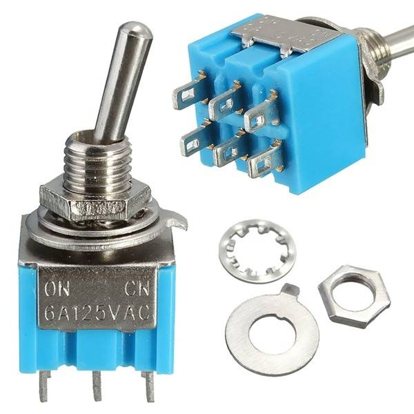 mini mts 203 6 pin spdt on off on 6a 125v ac toggle switches sale rh banggood com Miniature Toggle Switch SPDT SPDT Toggle Switch On Mon