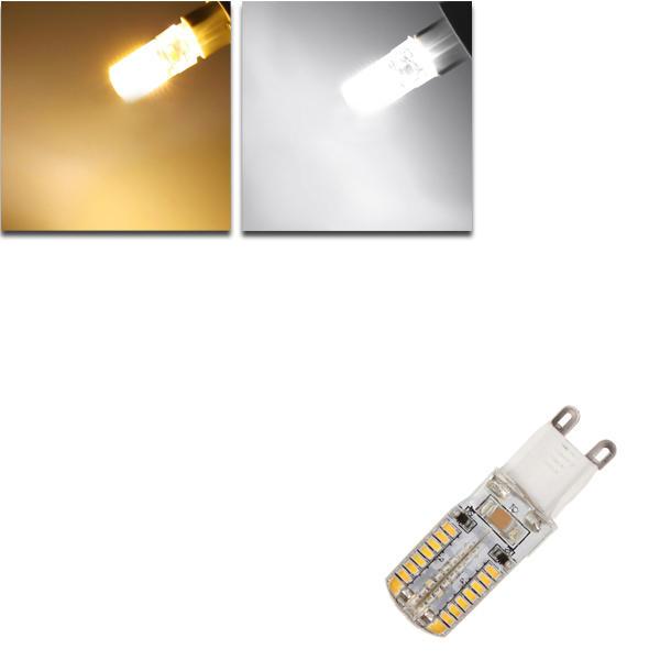 G9 5W White/Warm White 64 SMD 3014 85-265V LED Corn Light Bulb