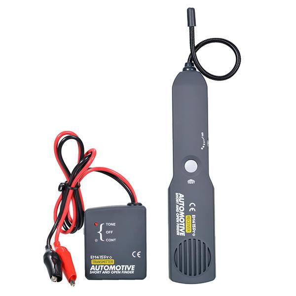 EM415 Pro Fil de câble des véhicules à moteur ouvert ouvert numérique Finder outil de réparation outil de testeur de testeur Tracer diagnostiquer
