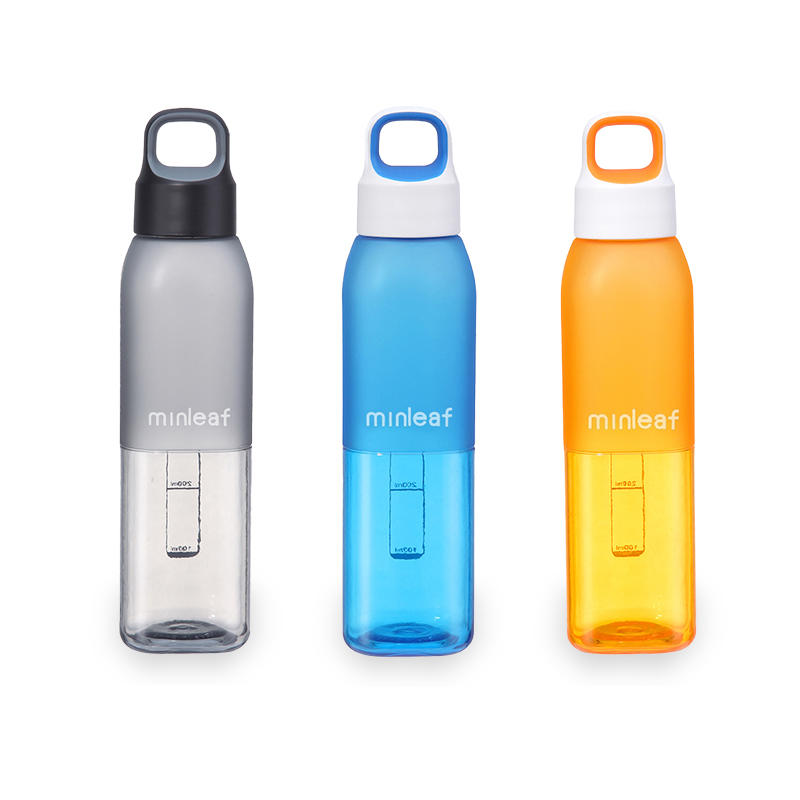 0b4a231ca1 550ml Large Capacity Portable Outdoor Sport Light Weight Safe Plastic Water  Bottle Cup - Grey COD