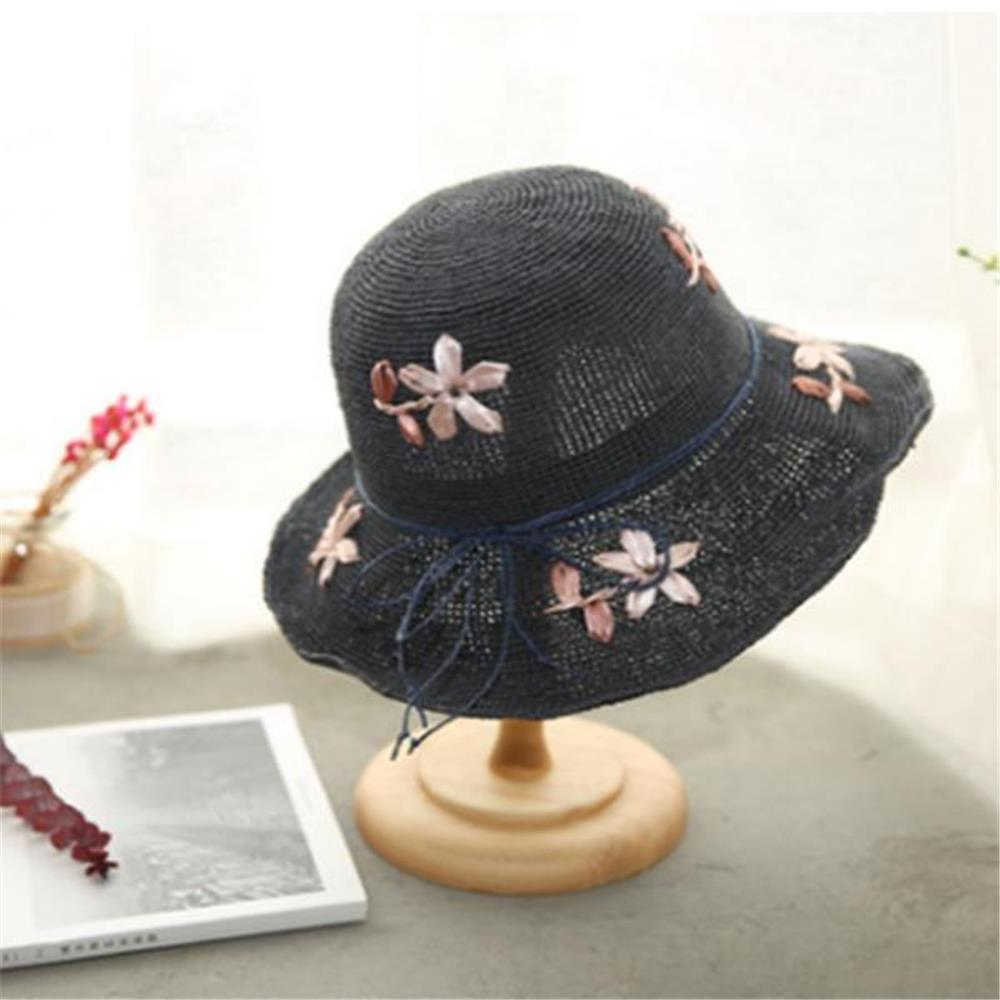 bcc4d06ff0a Other Warehouse. Send me purchase update on Messenger. Women Summer Foldable  Rafi Straw Hat Outdoor Breathable Anti-UV Sunscreen Bucket ...