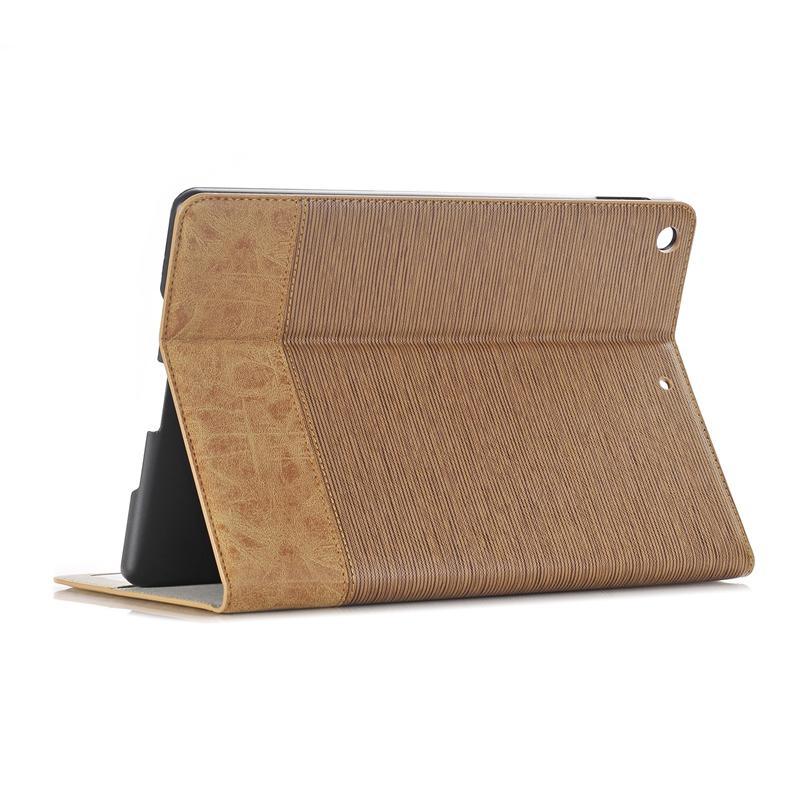 """PU lederen portemonnee kaartsleuf kickstand koffer voor nieuwe iPad 9.7 """"2017"""