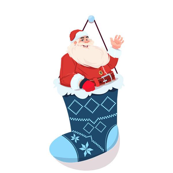 Banggood Рождество Носки с 3PCS хранения Сумки