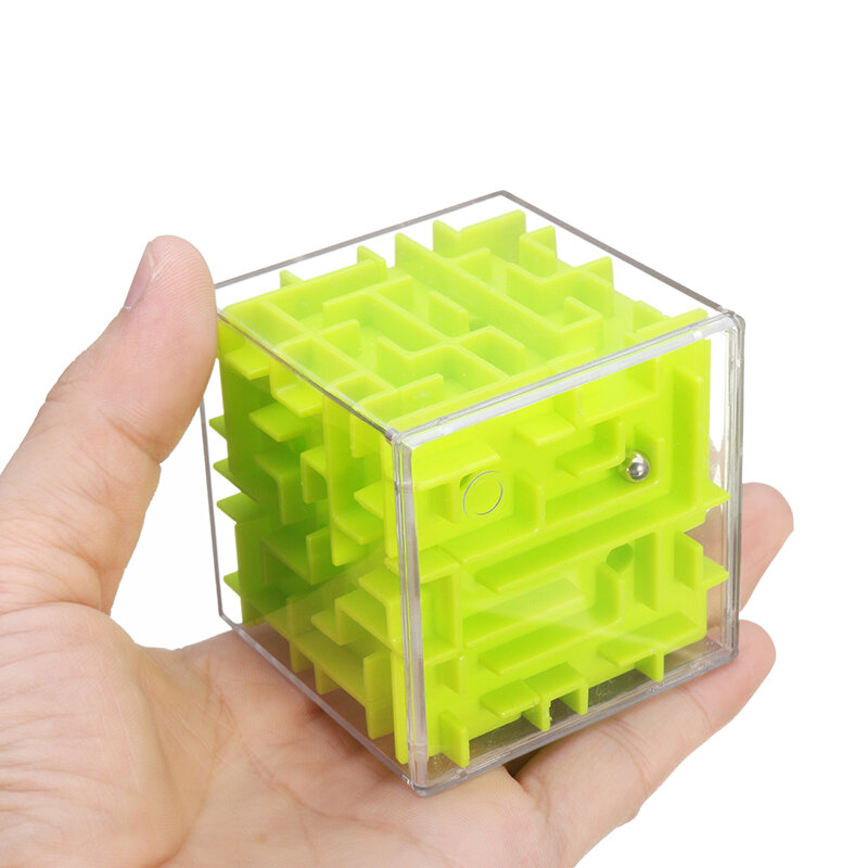 multi-color 3d stereo labyrinth fidget reduce stress cube for kids ...