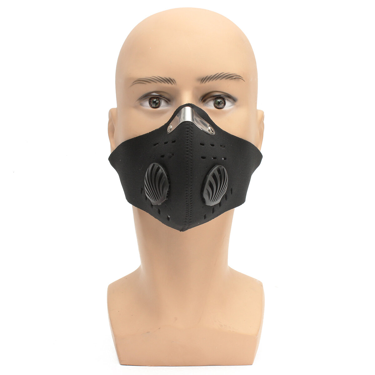 Corrida de Motocicleta PM2.5 Respirador de filtro de proteção de gás Poeira  Cara Máscara ccf7f22e3a