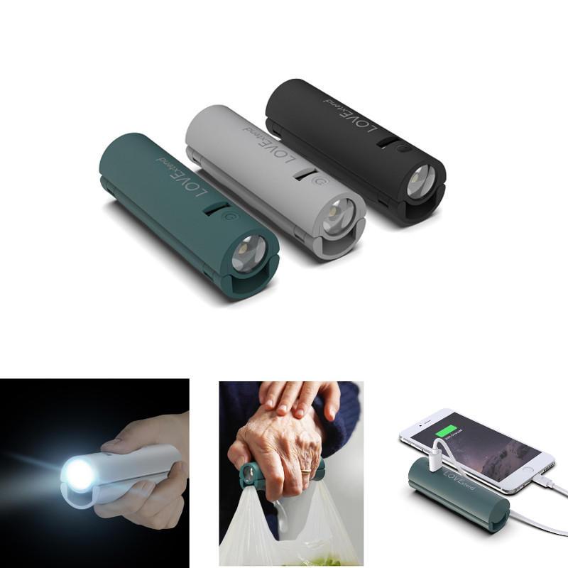 Xiaomi LOVExtend Rechargeable Flashlight Power Bank Hand Grip