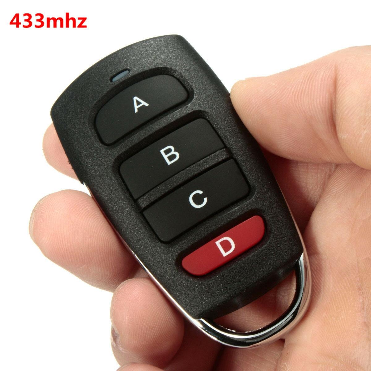 Universal Cloning Cloner 433mhz Electric Gate Garage Door Remote Control Key Fob