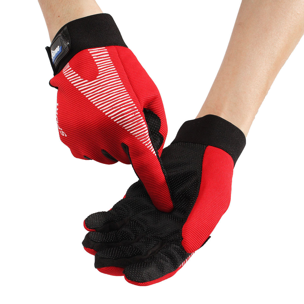 Gloves With Fingertips Out: Motorcycle Windproof Full Finger Gloves Mountain Racing
