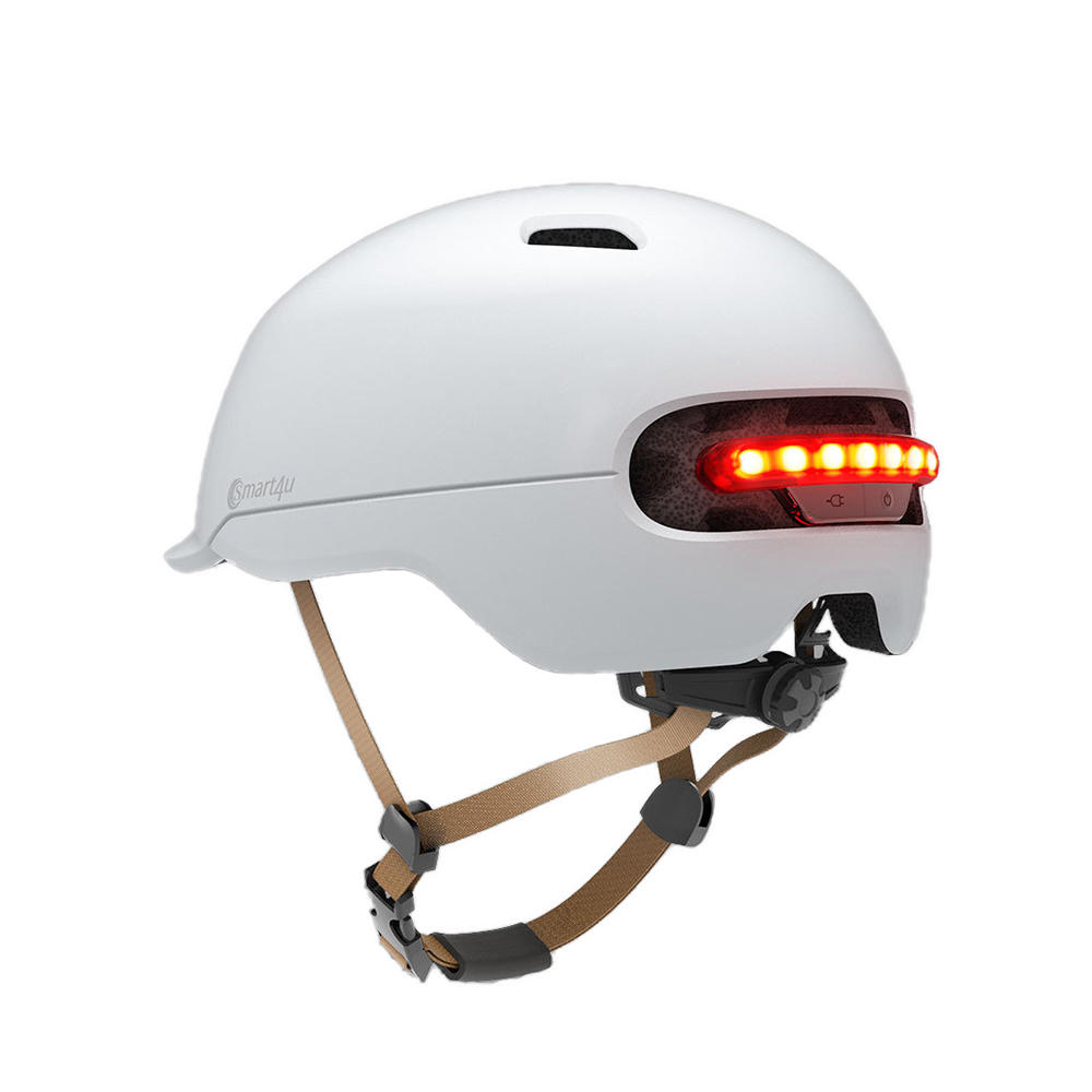 09182b1f1ad XIAOMI Smart4u SH50 Cycling Helmet Intelligent Back LED Light EPS  Adjustable Breathable Ventilation IPX4 Motorcycle Mountain. Share To