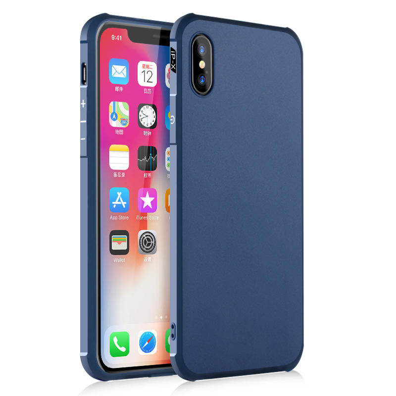 Bakeey Protective Case For iPhone X Air Cushion Corners Soft TPU Shockproof