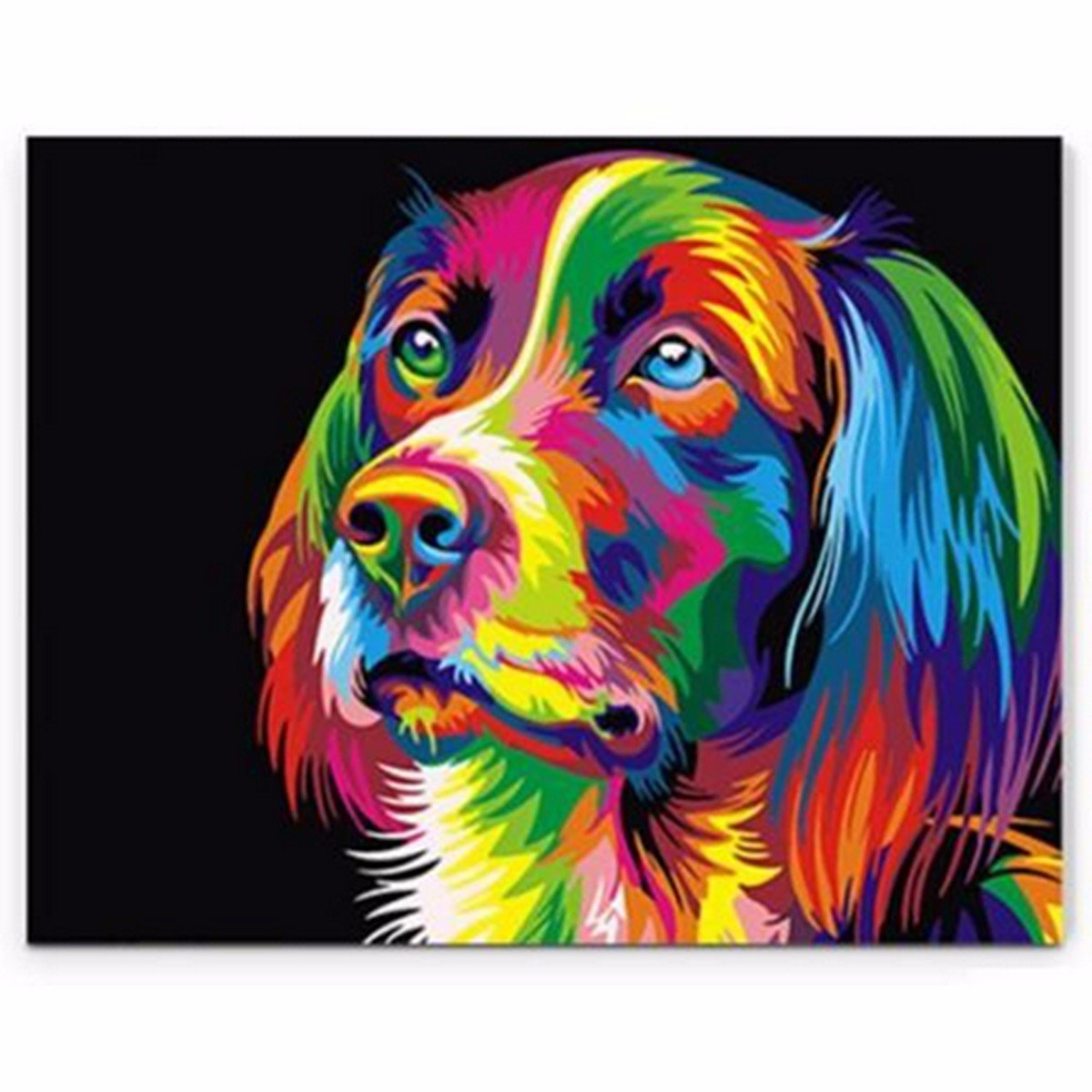 Other Home Arts & Crafts Search For Flights 50x40cm Colorful Puppy Dog Little Animal Pet Diy Self Handicraft Paint Kit Home Arts & Crafts