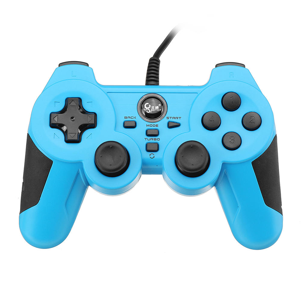 Betop BTP-2163X Wired Vibration Turbo Gamepad for PC PS3 TV Android ...