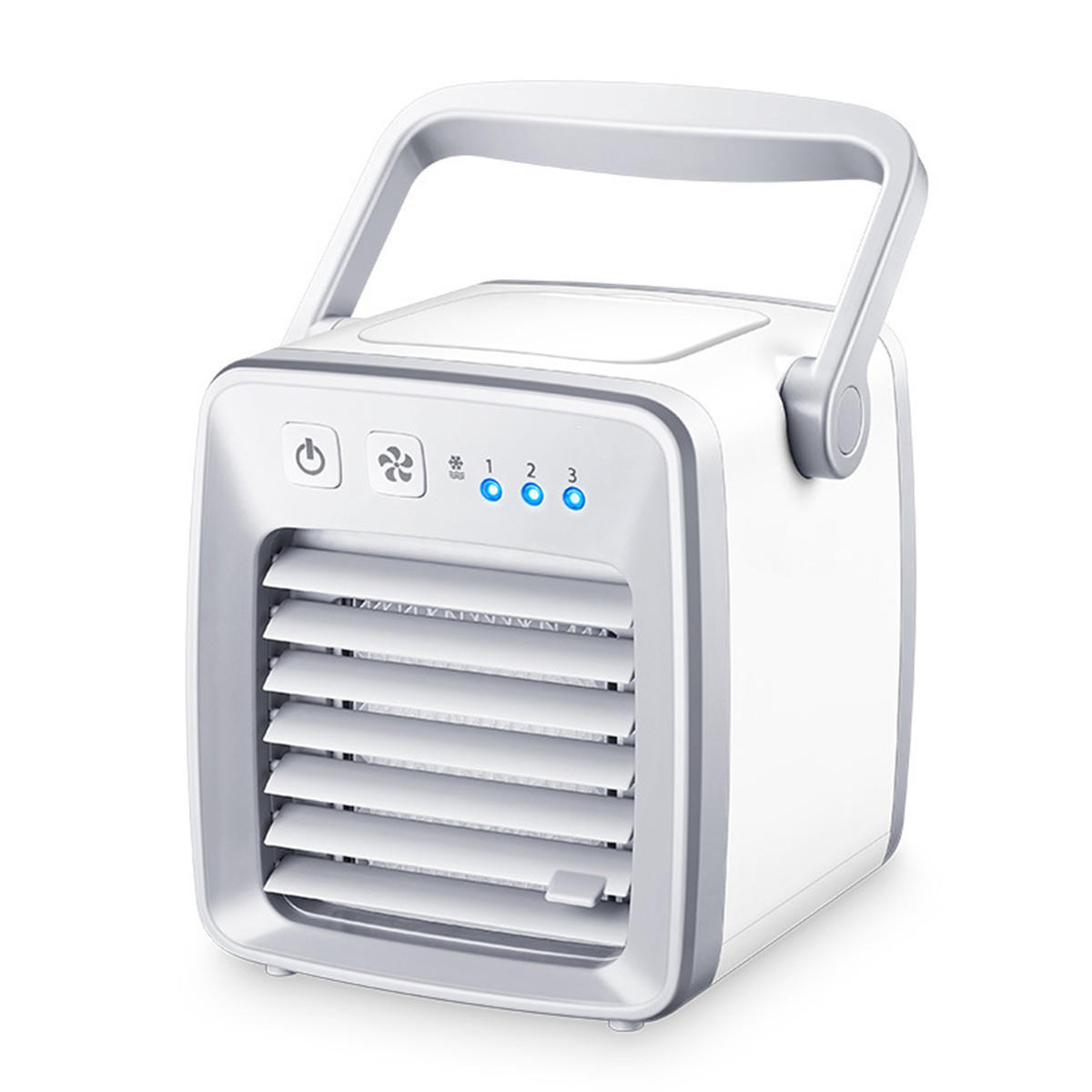 9c4daba3a58 personal air cooler fan usb portable air conditioner refrigeration  humidification purification Sale - Banggood.com sold out