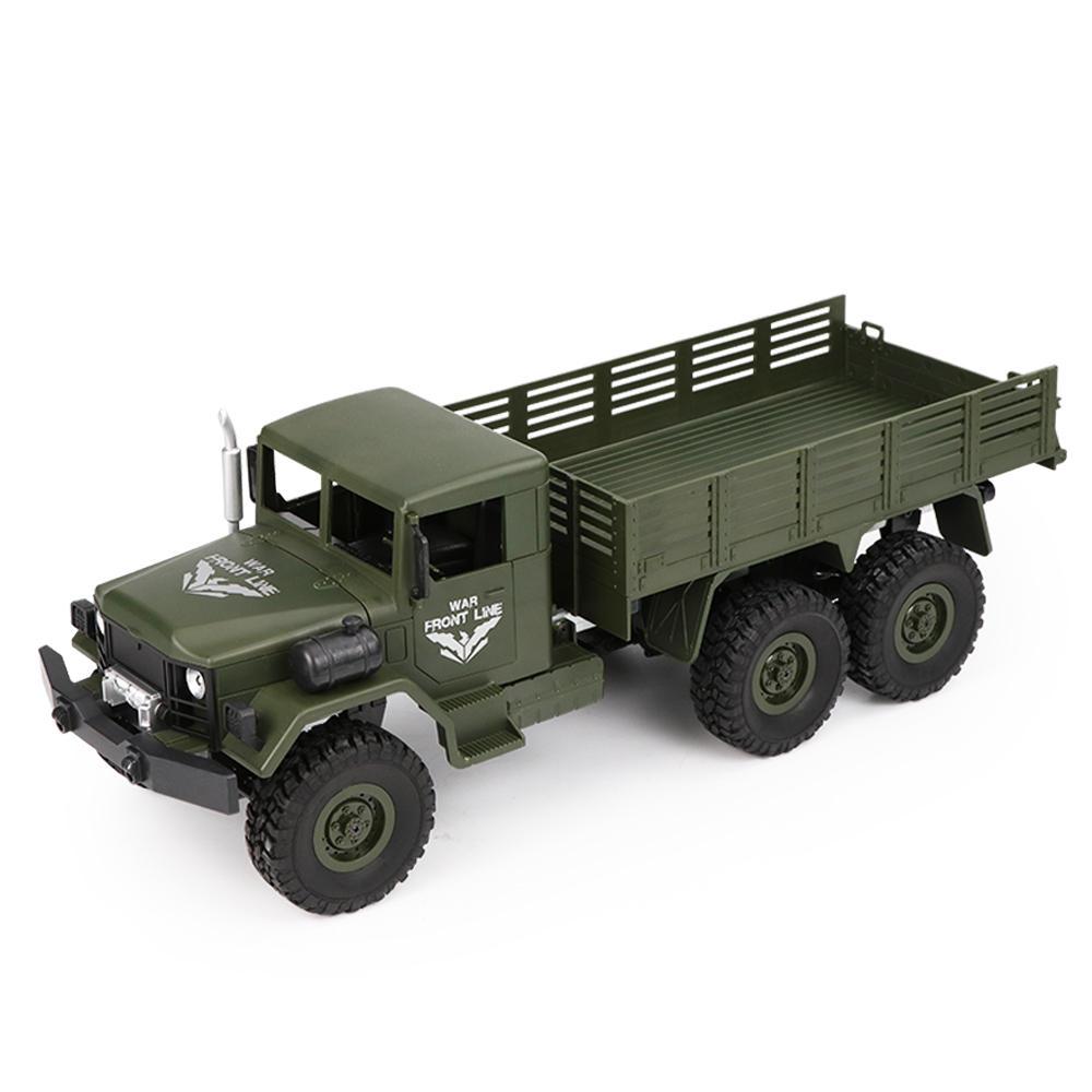 Jjrc Q63 1 16 24g 6wd Off Road Transporter Truk Militer Crawler Rc Mobil