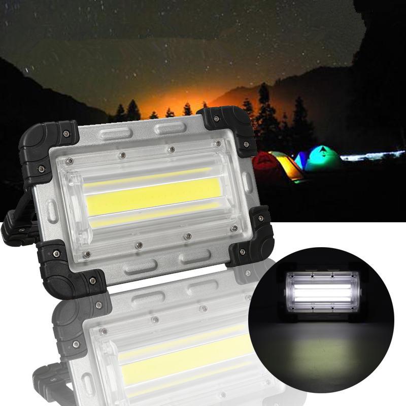 30W COB Аккумуляторные ручные палатки Лампа На открытом воздухе Кемпинг Пешеходный портативный потолочный светильник