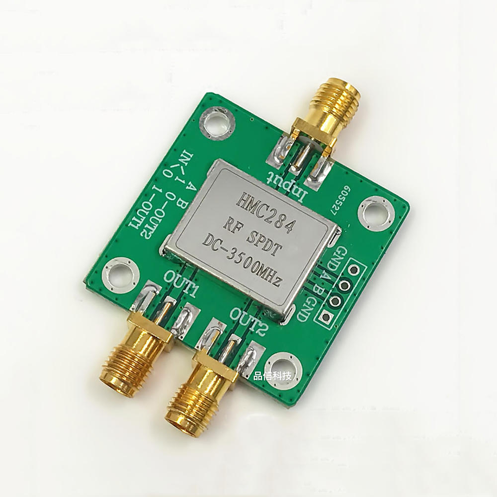 Hmc 284 Dc 3500mhz Single Pole Double Throw Spdt Rf Switches For Fpv Switch Schematic