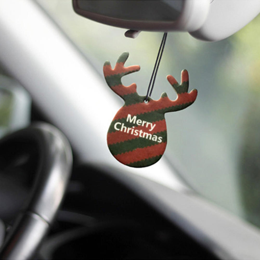 Car Pendant Air Freshener Car-styling Deer Shape Hanging Perfume Merry Christmas Gift Beautiful Car Decoration Sturdy Construction Ornaments Interior Accessories