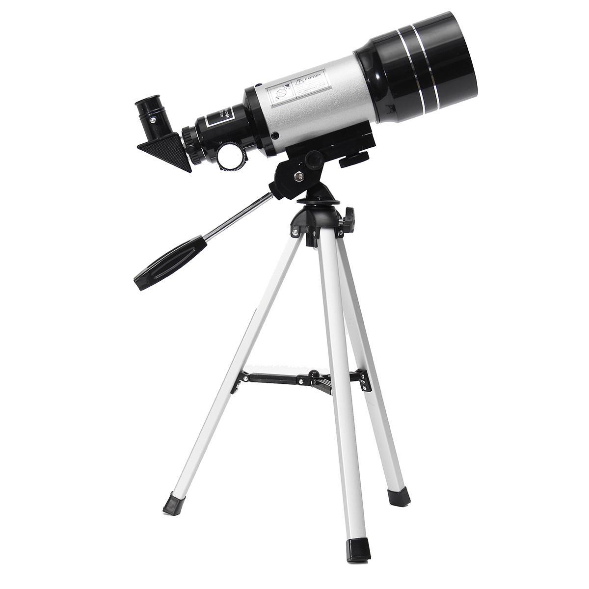 Telescopio Astronómico Terrestre De Alta Definición Monocular F30070M HD Exterior Con Trípode