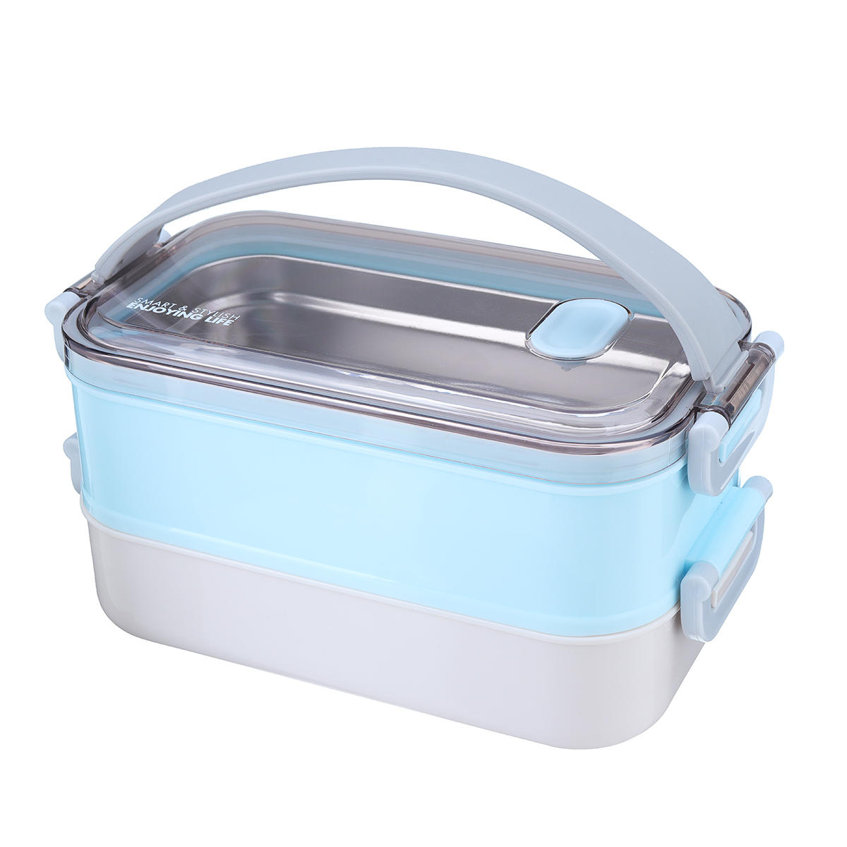 ac4b159bae9 1-2 Layer Stainless Steel Insulated Lunch Box Food Storage Thermal  Container COD
