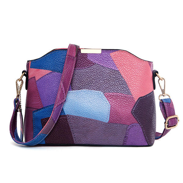 Female Patchwork Shell Crossbody Bags Shoulder Bags