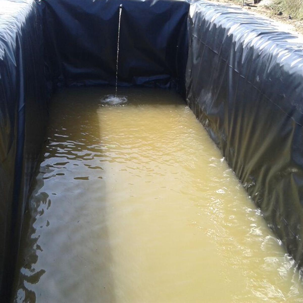 8-32ft Sizes Fish Pond Liner Gardens Pools Pvc Membrane
