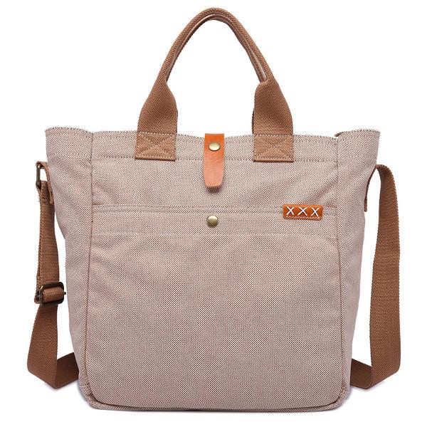 Ekphero حقيقية الجلود قماش حمل حقائب عارضة حقيبة خمر كروسبودي حقائب