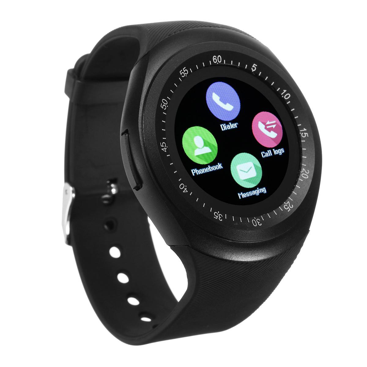 Y1 Inteligente Bluetooth3.0 Watch Phone Banda SIM Cartão De Toque De Tela De Bracelet Sport