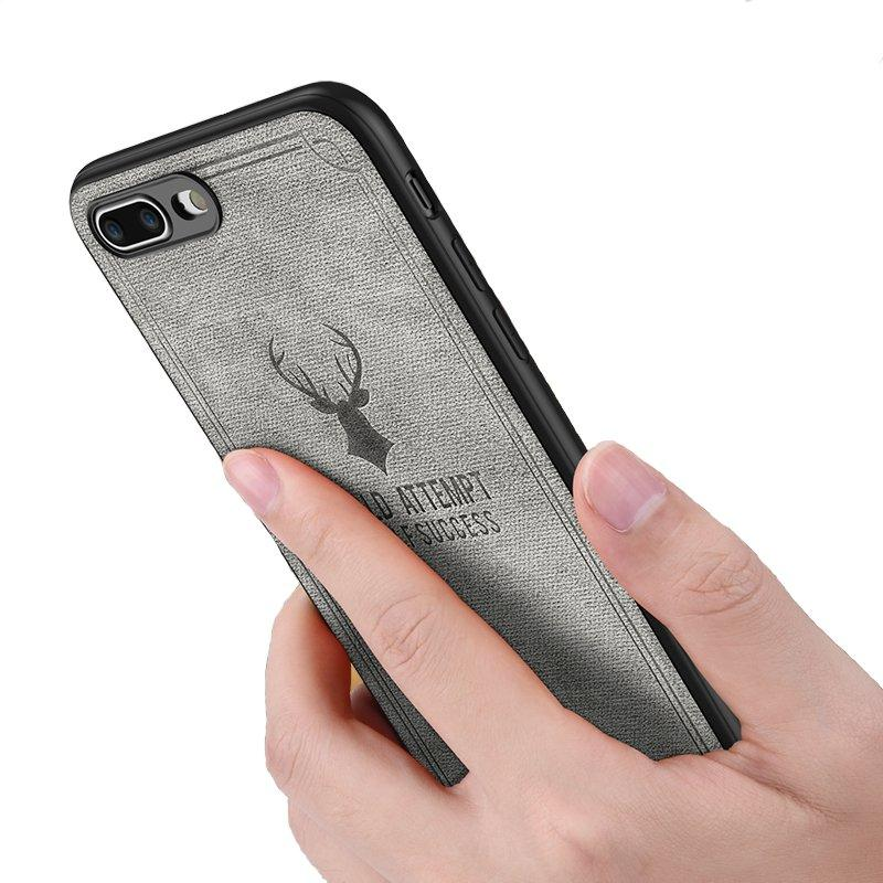 Bakeey Vintage Anti Fingerprint Leather Protective Case For iPhone 8/8 Plus/7/7 Plus