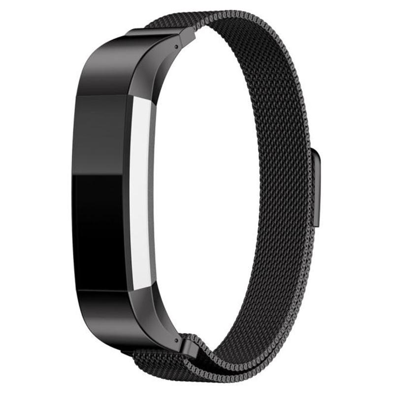 Замена Модные черные магнитные часы Стандарты для FITBIT ALTA