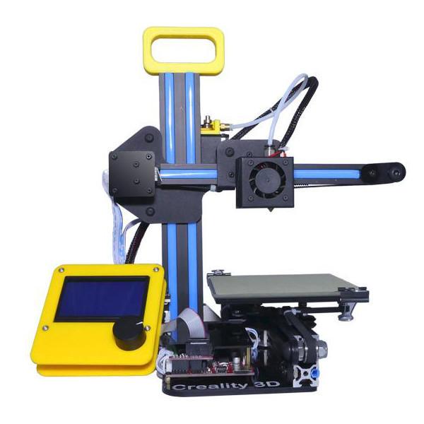 Creality 3D® CR-7 Mini imprimante bricolage DIY Kit de bureau personnel haute densité pour la maison 1.75mm 0.4mm
