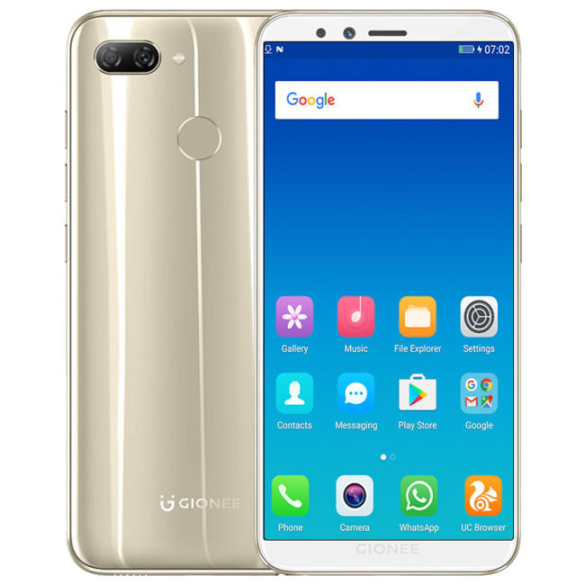 GIONEE S11 Lite Global Version 5.7 Inch HD 3030mAh 4GB RAM 32GB ROM Snapdragon 430 Octa Core 1.4GHz 4G Smartphone