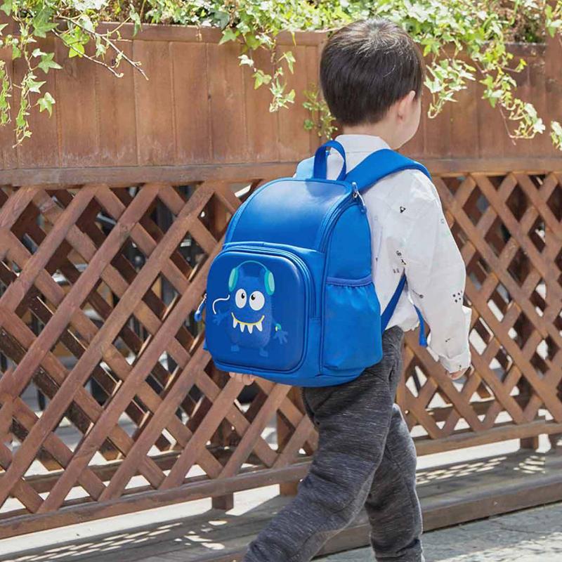 xiaomi 3d little monster style kid children backpack lightweight ... b0ba58bccfcb7