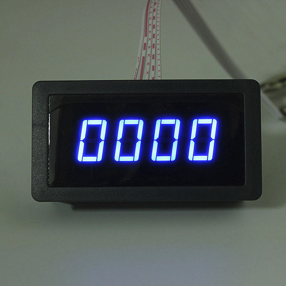4 Digital Led Tachometer Rpm Speed Meter Proximity Switch Sensor Circuit Diagram For Automobiles Npn