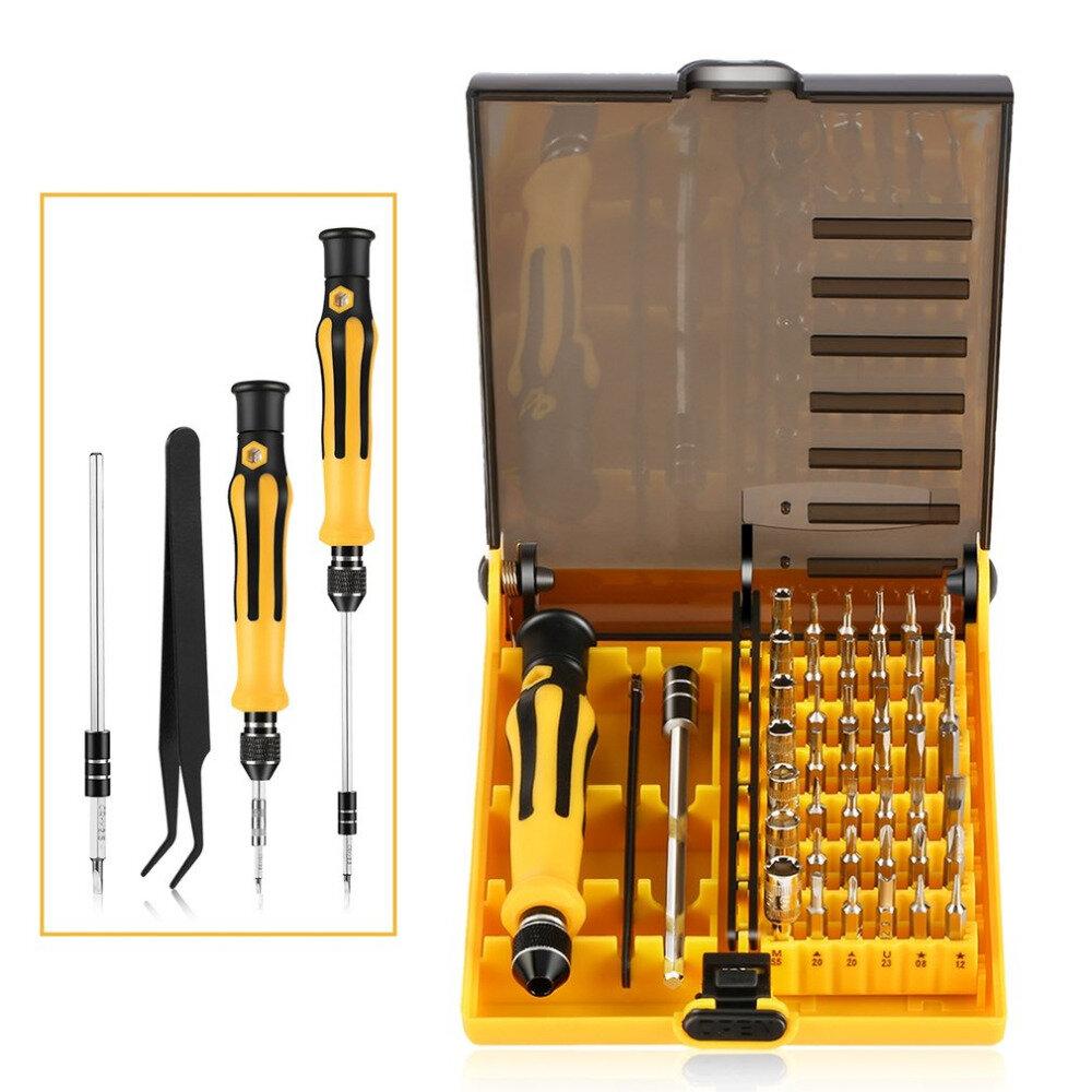 Bakeey ™ 45 dans 1 kits de trousse de réparation de jeu de tournevis de précision de matériel pour Xiaomi iPhone Notebook