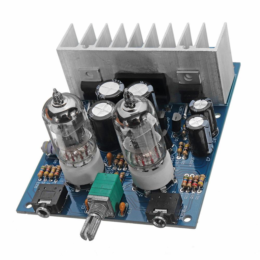 Conseil de l'amplificateur numérique de puissance de tube de puissance de tube de puissance de fièvre 6j1 de LM1875T Hifi