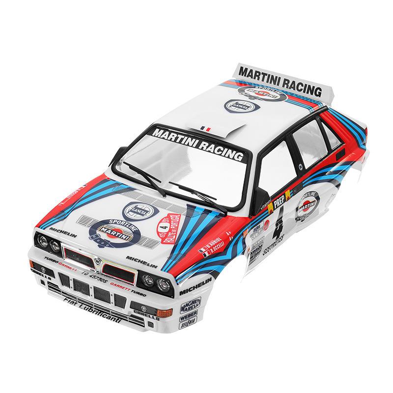 killerbody car shell 48248 lancia delta rally-racing printed 1/10